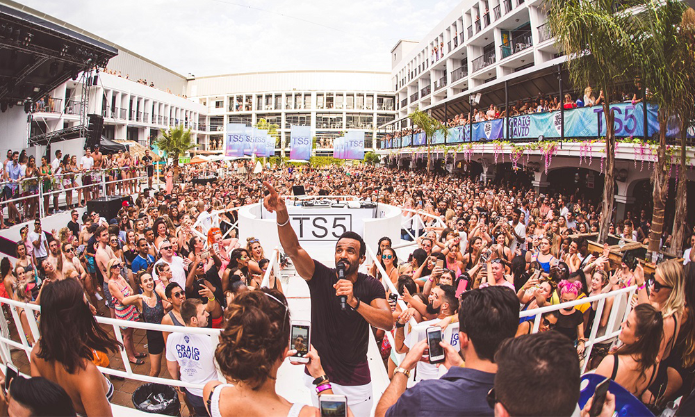 Ibiza Rocks Are The First To Announce A 2018 Party – Craig David Is Back!