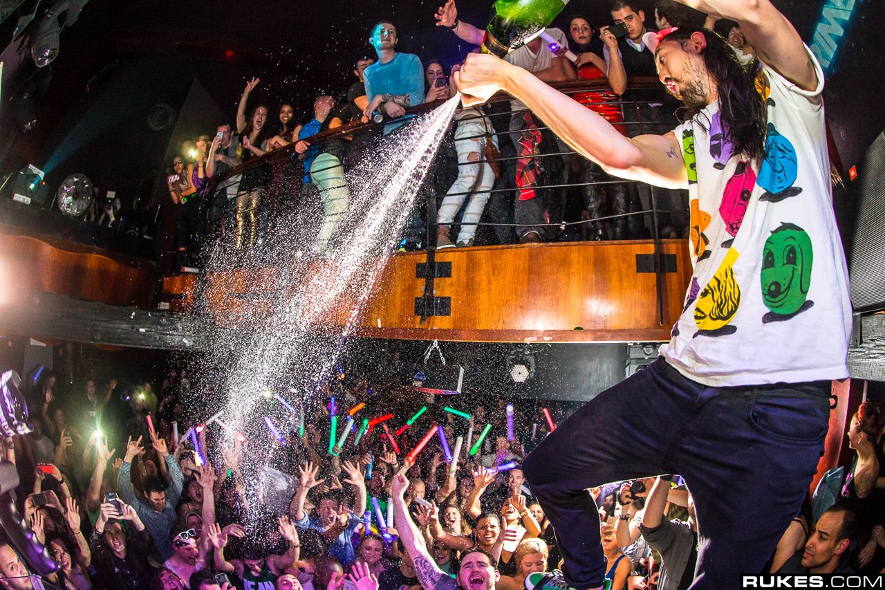 Is Steve Aoki About To Announce An Ushuaia Residency?