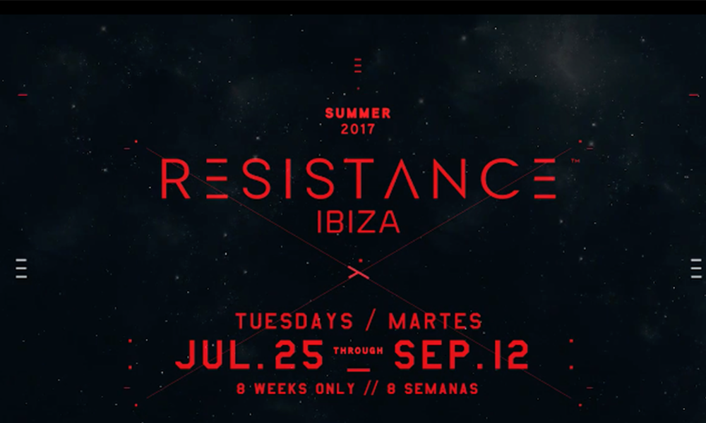 Resistance Reveal Details Of Debut Ibiza Residency And It's Huge