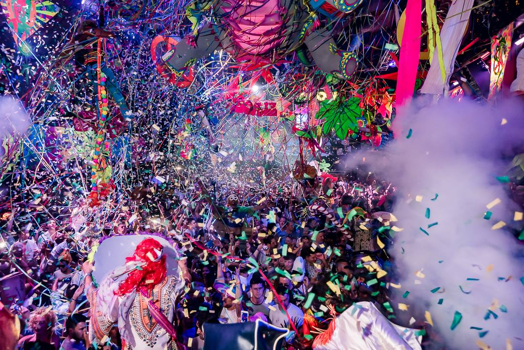 Check Out These 5 Amazing Videos From Elrow Amnesia Opening