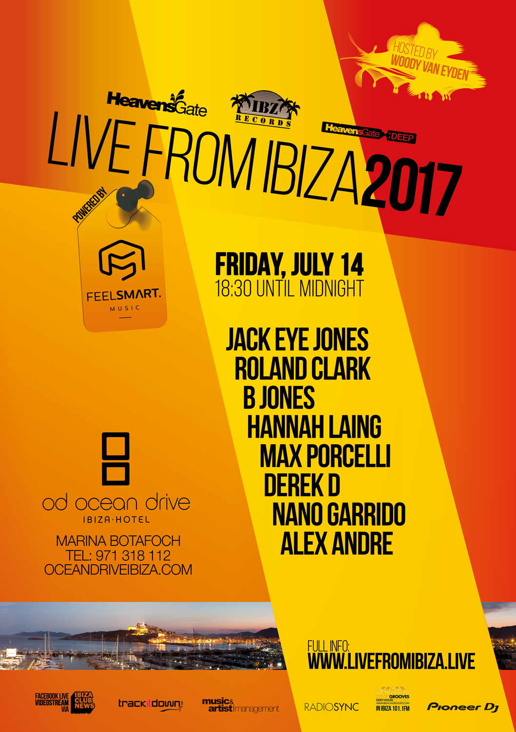 LIVEfromIBIZA Ocean Drive Night 1