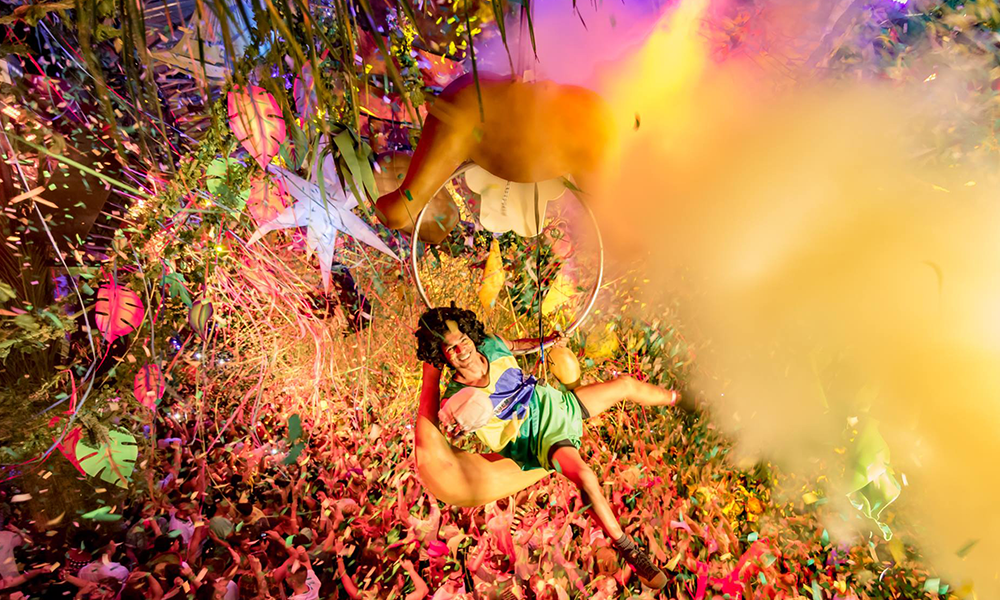 Take A Peak Behind The Curtains At The World's Most Outrageous Party… Elrow