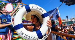 You Can Party On The Ark Cruise Boat For A Massive 240 Hours
