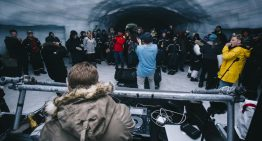 Where Can You Rave In A Glacier, Dance In A Lava Tunnel And Party In A Geothermal Pool?