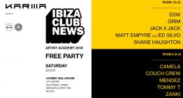 Ibiza Club News Artist Academy Celebrate With Free Party In Newcastle