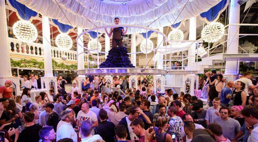 Clockwork Orange Celebrate 25th Anniversary In Es Paradis