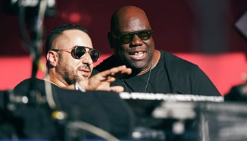 Carl Cox Going Back To Back With Joseph Capriati At Resistance Tonight