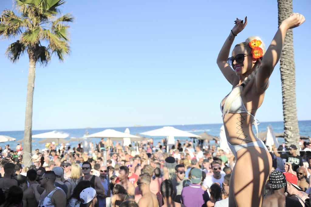 Bora Bora Beach Open Air Venue Ibiza